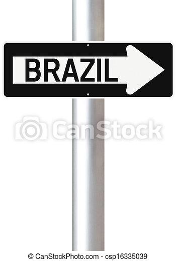 Una manera de Brasil - csp16335039