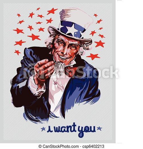 Uncle Sam - csp6402213