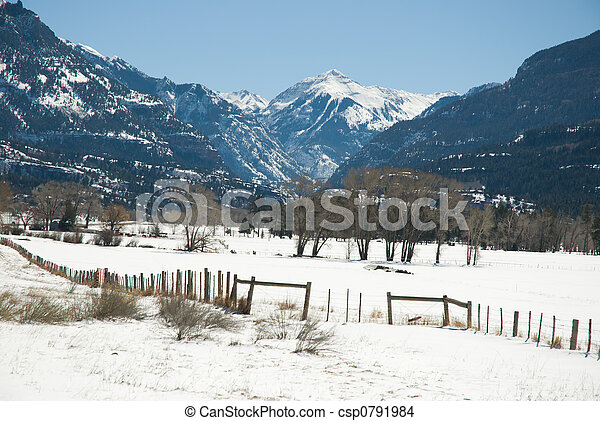 Uncompahgre Winter - csp0791984