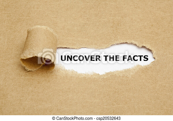 Uncover The Facts - csp20532643