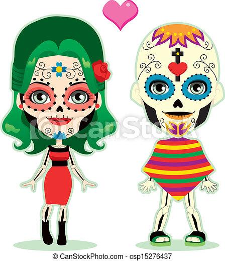 Amor de pareja no muerta - csp15276437