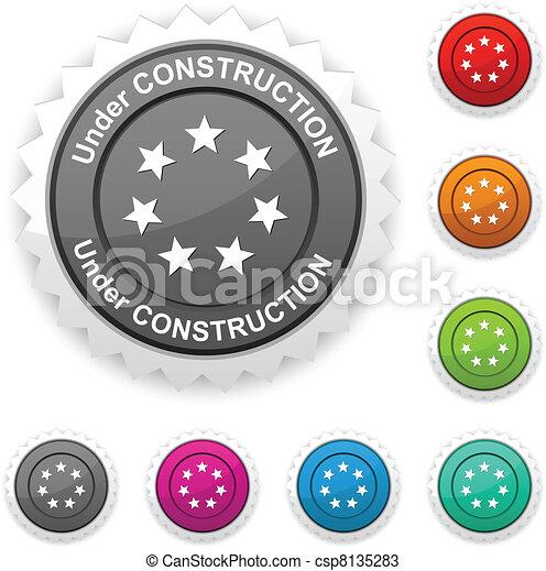 Under construction award. - csp8135283