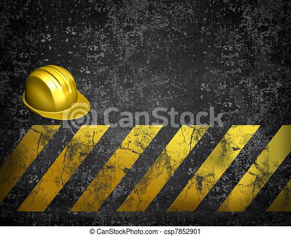 under construction background - csp7852901