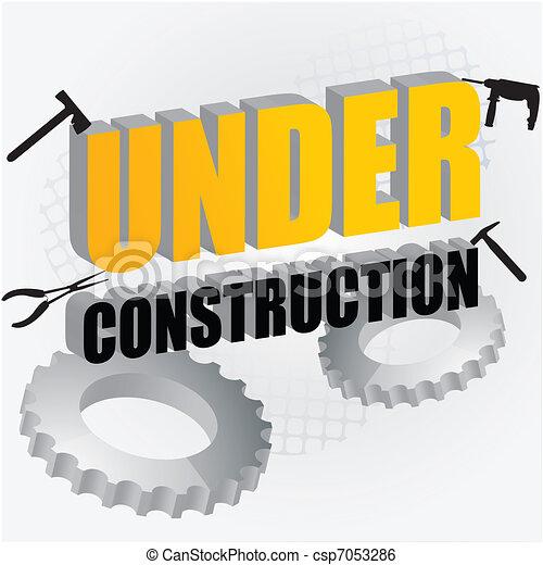 under construction - csp7053286