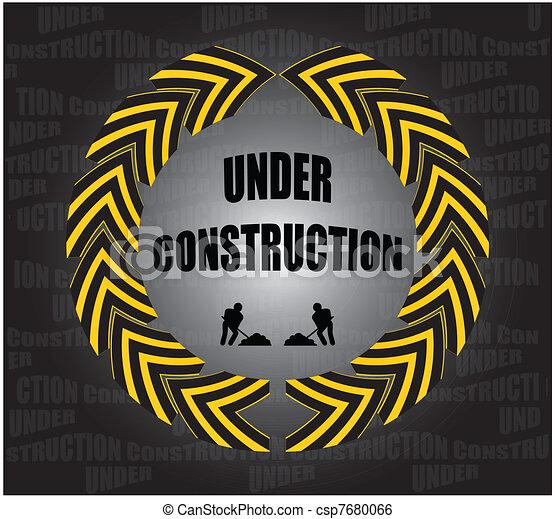 under construction - csp7680066