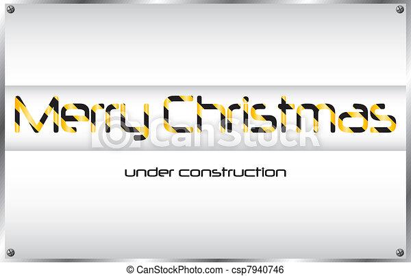 under construction - csp7940746