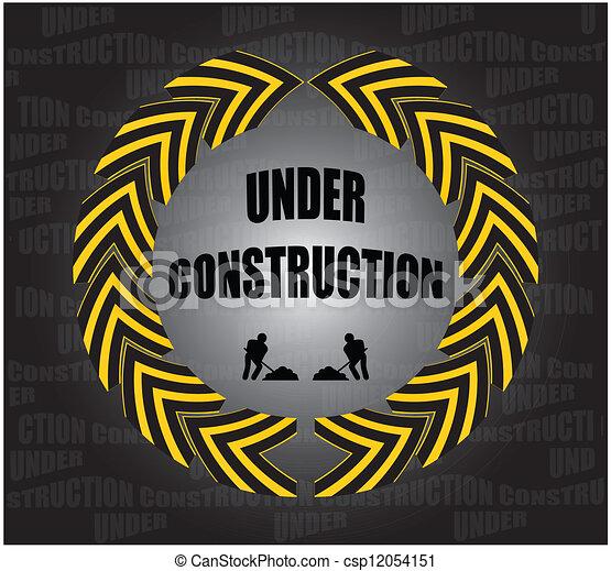 under construction - csp12054151