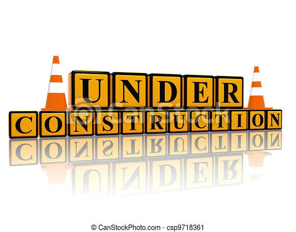 Under construction - csp9718361