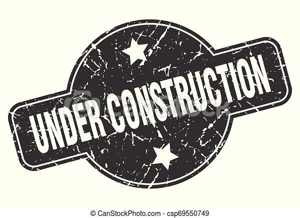 under construction - csp69550749