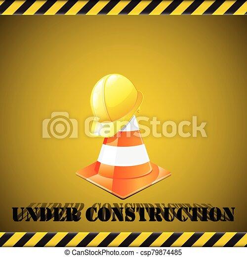 Under construction - csp79874485