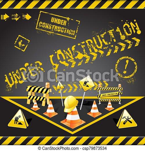 Under construction - csp79873534