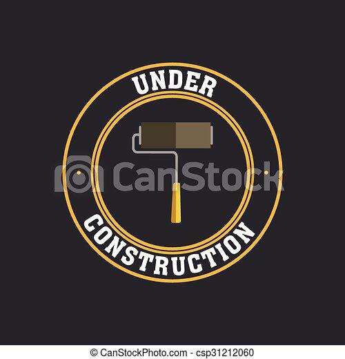 Under construction icon - csp31212060