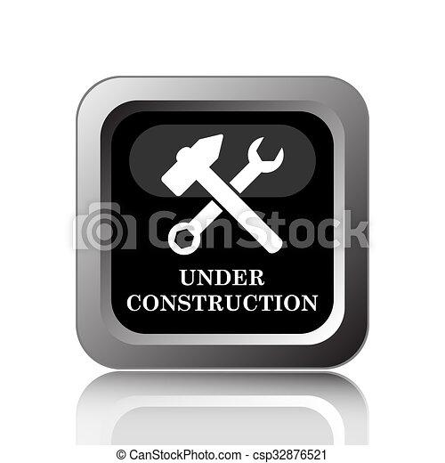 Under construction icon - csp32876521