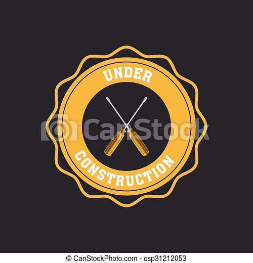 Under construction icon - csp31212053
