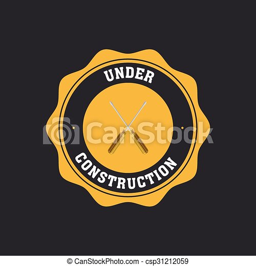 Under construction icon - csp31212059