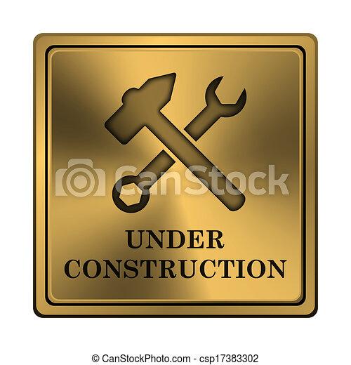 Under construction icon - csp17383302