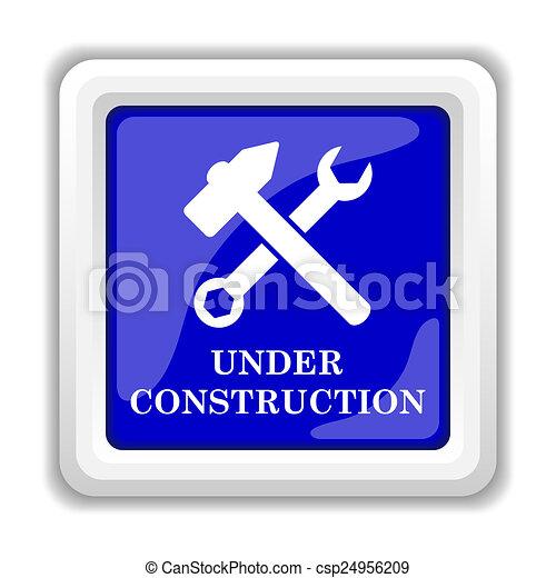Under construction icon - csp24956209