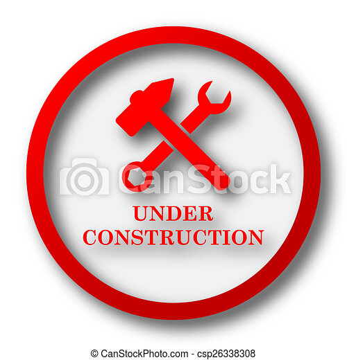 Under construction icon - csp26338308
