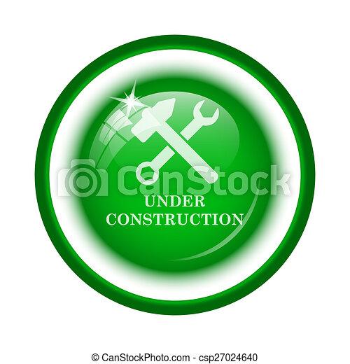 Under construction icon - csp27024640
