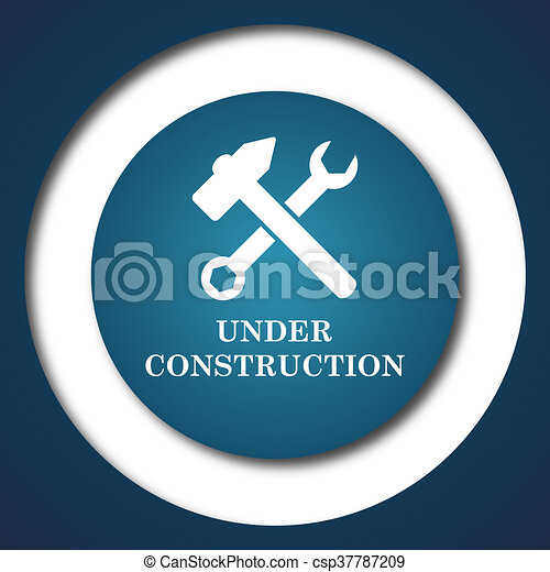 Under construction icon - csp37787209