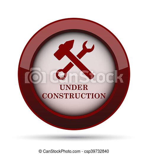 Under construction icon - csp39732840