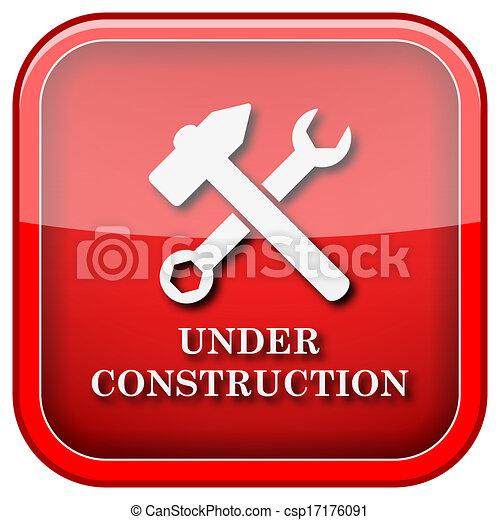 Under construction icon - csp17176091