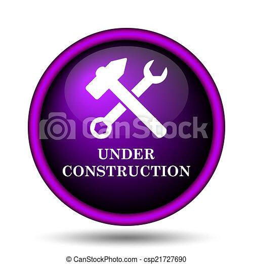 Under construction icon - csp21727690