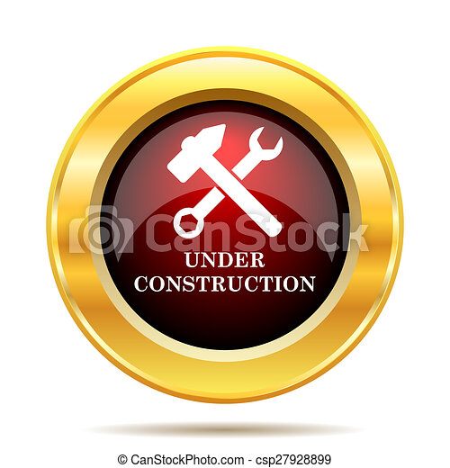 Under construction icon - csp27928899