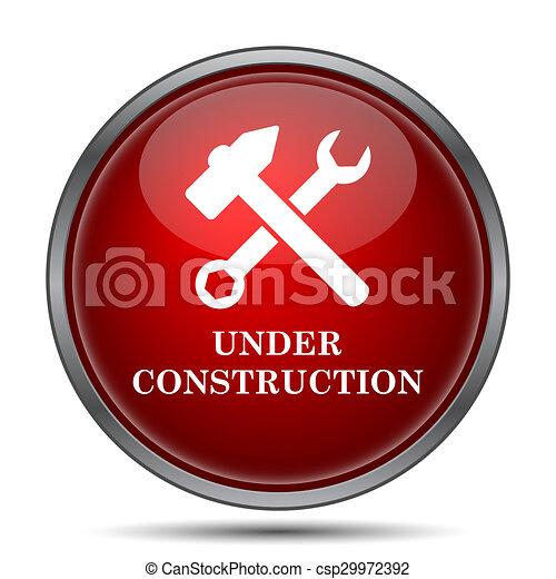 Under construction icon - csp29972392