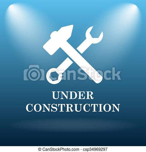 Under construction icon - csp34969297