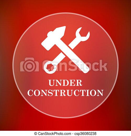 Under construction icon - csp36080238