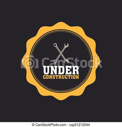 Under construction icon - csp31212044