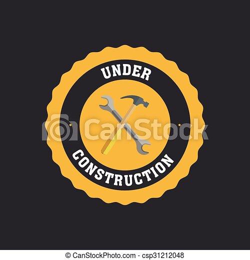 Under construction icon - csp31212048
