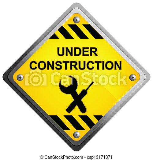 Under Construction Icon - csp13171371