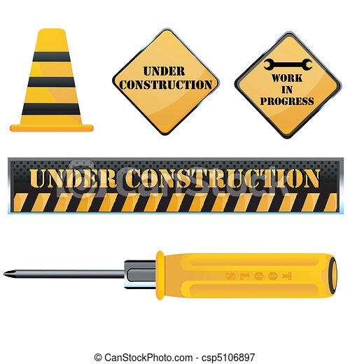under construction icon - csp5106897