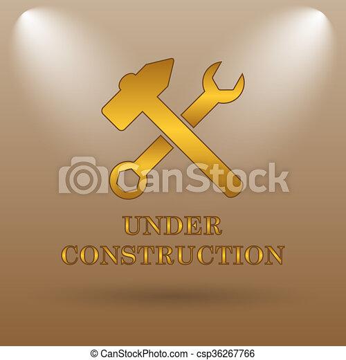 Under construction icon - csp36267766