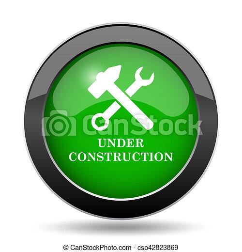 Under construction icon - csp42823869