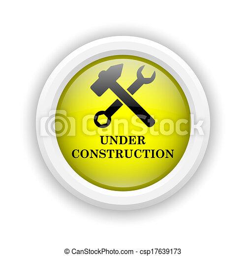 Under construction icon - csp17639173