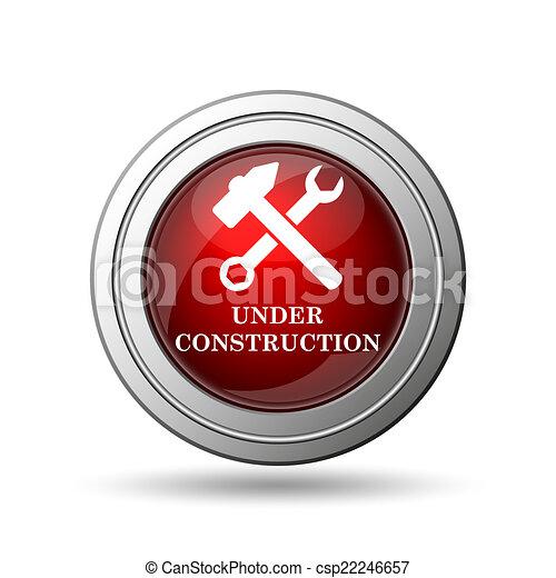 Under construction icon - csp22246657