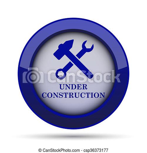 Under construction icon - csp36373177