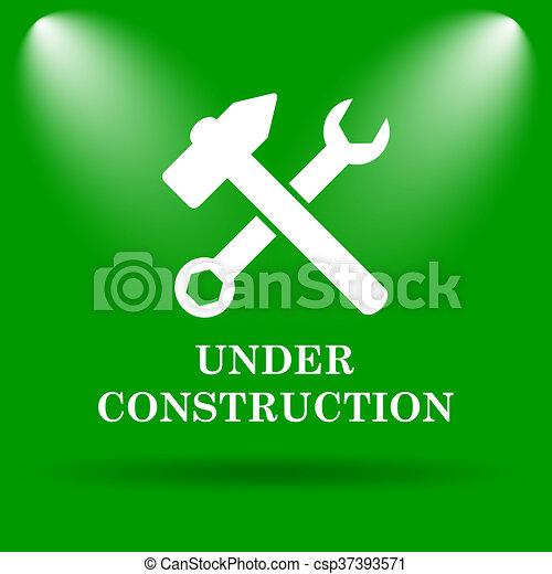 Under construction icon - csp37393571