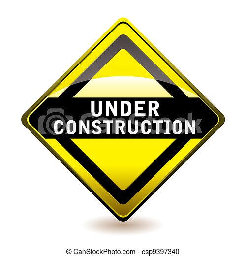 Under construction icon - csp9397340