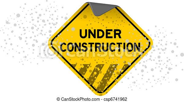 Under Construction - csp6741962