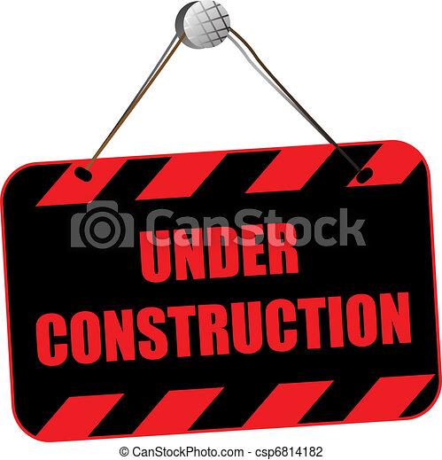 Under construction - csp6814182
