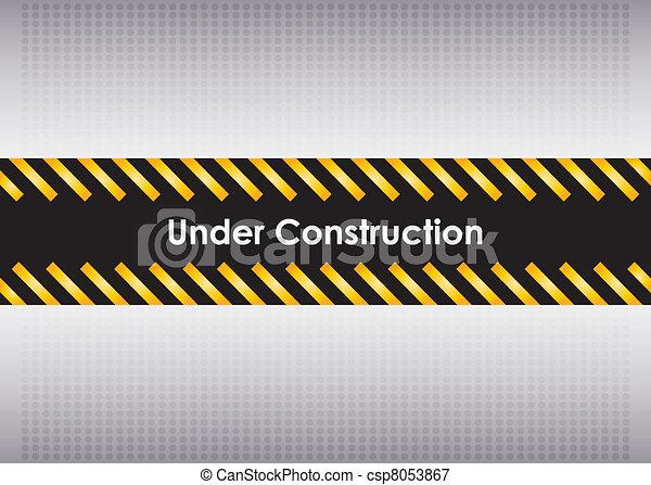 under construction - csp8053867