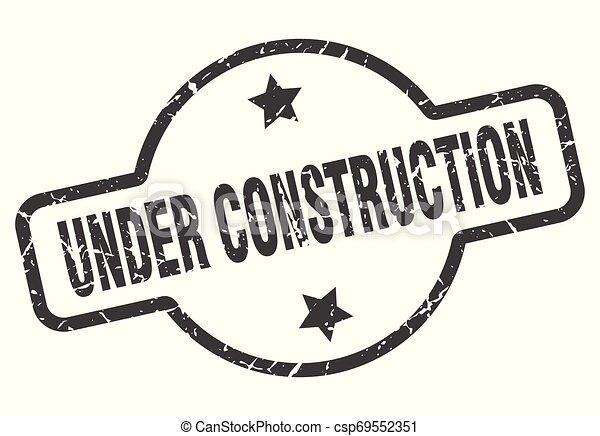 under construction sign - csp69552351