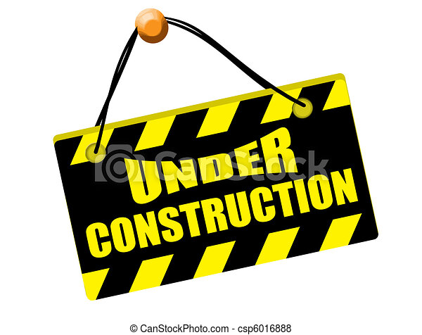 picture regarding Free Printable Under Construction Signs known as Below structure indicator