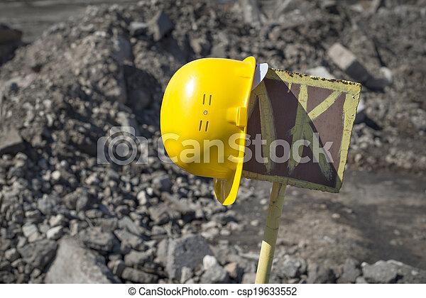 under construction - csp19633552