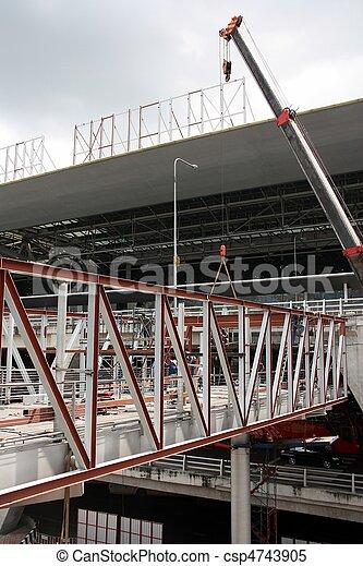 under construction. - csp4743905