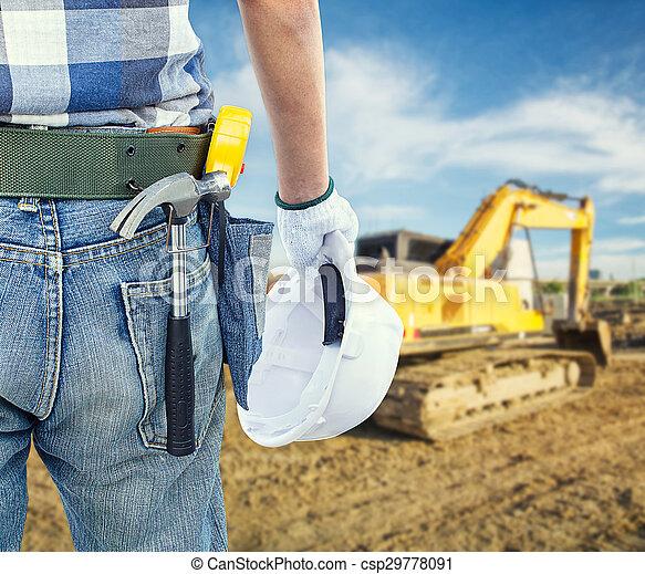 Under construction - csp29778091